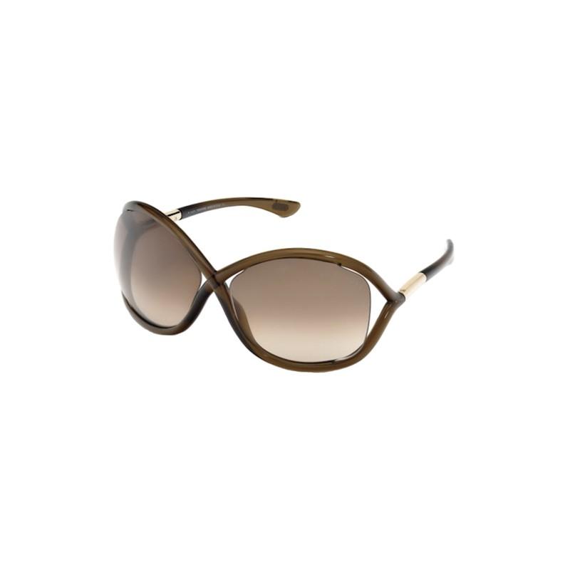 lunettes de soleil femme tom ford whitney tf0009 692 lyon. Black Bedroom Furniture Sets. Home Design Ideas