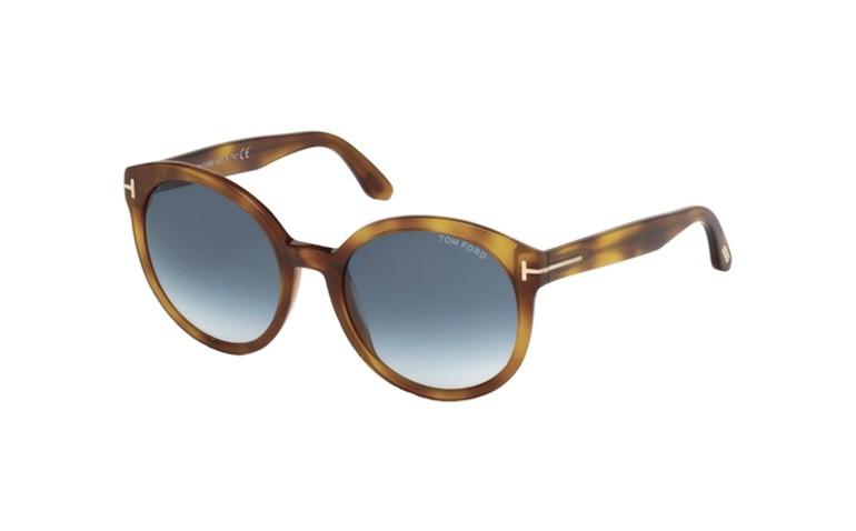 lunettes de soleil femme tom ford philippa ft0503 53w lyon. Black Bedroom Furniture Sets. Home Design Ideas