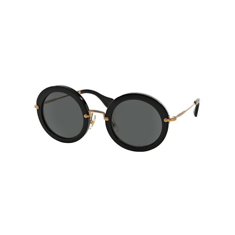 lunettes de soleil femme miu miu mu 13ns 1ab1a1 nagabbo opticien lyon. Black Bedroom Furniture Sets. Home Design Ideas