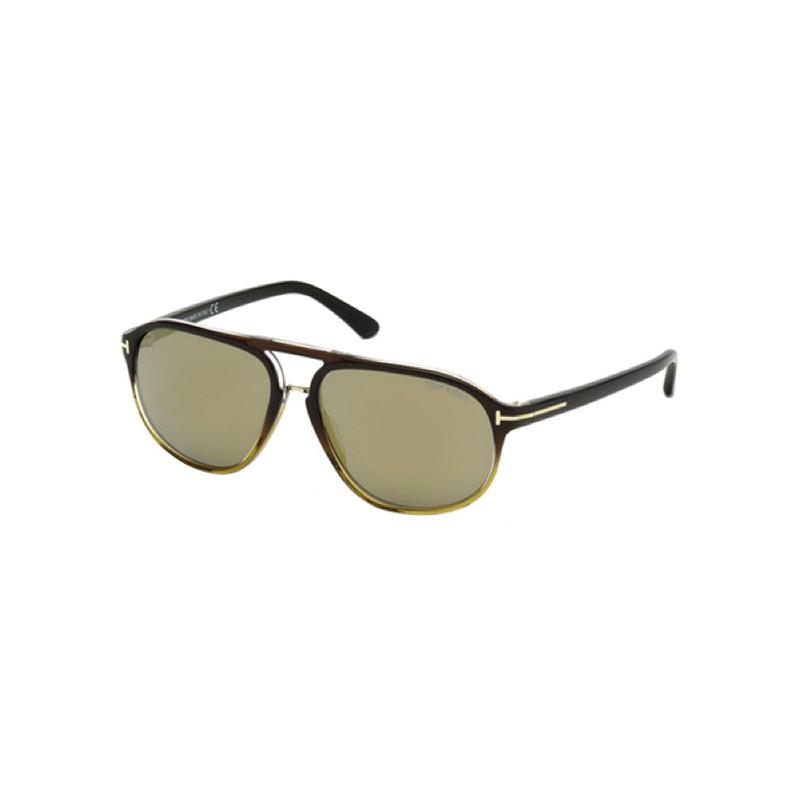 lunettes de soleil homme tom ford tf ft447 05c a lyon. Black Bedroom Furniture Sets. Home Design Ideas