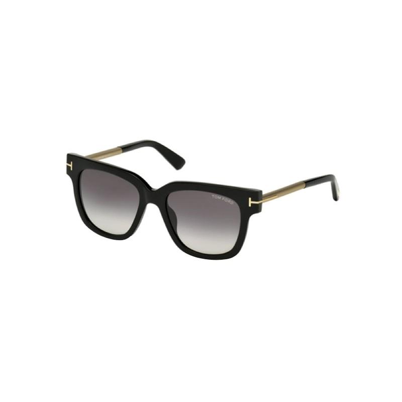 lunettes de soleil femme tom ford tf ft436 01b a lyon. Black Bedroom Furniture Sets. Home Design Ideas