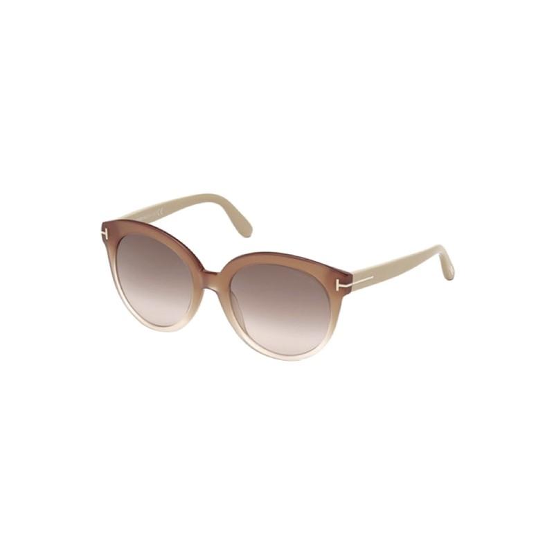 lunettes de soleil femme tom ford tf ft429 74f a lyon. Black Bedroom Furniture Sets. Home Design Ideas
