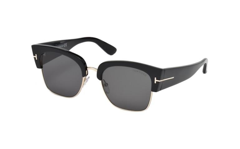 lunettes de soleil femme tom ford dakota02 ft0554 01a lyon. Black Bedroom Furniture Sets. Home Design Ideas
