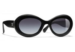 Lunettes ovales Femme Chanel Noir