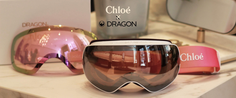 Découvrez en édition spéciale Cassidy, le premier masque de ski de la maison Chloé mis au point en collaboration avec Dragon, leader sur le secteur de l'eyewear haute performance.
